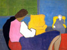 Sally and Sara 1947 - Milton Avery