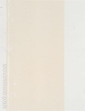 Tenth Station 1965 - Barnett Newman reproduction oil painting