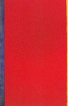 Barnett Newman Whos Afraid of Red Yellow and Blue I 1966
