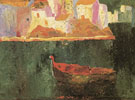 Salvador Dali Punta es Baluard from Riba dEn Picthot Cadaques c1918