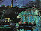 Salvador Dali Port of Cadaques Night c1918