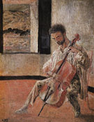 Salvador Dali Portrait of the Cellist Ricardo Pichot 1920
