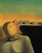 The Average Bureacrat 1930 - Salvador Dali