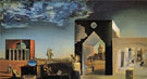 Suburbs of Paranoiac Critical Town Afternoon on the Outskirts of European History 1936 - Salvador Dali