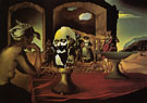 Slave Market with the Disappearing Bust of Voltaire 1940 - Salvador Dali
