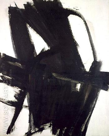 Merce C 1961 - Franz Kline reproduction oil painting