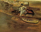 Atmospheric Skull Sodomizing a Grand Piano 1934 - Salvador Dali