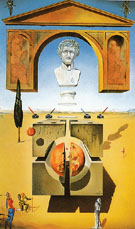 Dematerialization near the Nose of Nero 1947 - Salvador Dali