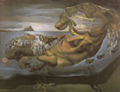 Rhinoceros Disintegration of Ilissus of Phidias 1964 - Salvador Dali