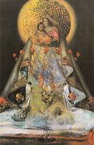 Virgin of Guadalupe 1959 - Salvador Dali
