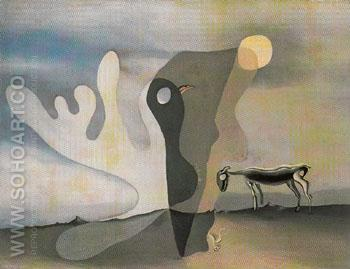 The Ram 1928 - Salvador Dali reproduction oil painting