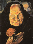 Portrait of Grandmather Llucia c1917 - Salvador Dali