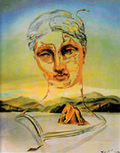 Birth of a Divinity 1960 - Salvador Dali