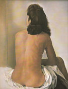 Salvador Dali Gala Nude from the Back Looking in an Invisible Mirror 1960