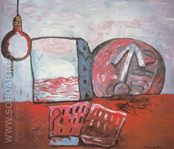 The Magnet 1975 - Philip Guston reproduction oil painting