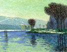 Auguste Herbin Snow at Haut Isle 1906