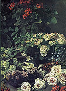 Claude Monet Spring Flowers 1864
