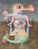 Victor Brauner Totem de la Subjectivite Blessee II 1948
