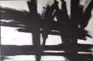Untitled 411 - Franz Kline reproduction oil painting