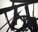 Turin 1960 - Franz Kline reproduction oil painting