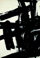 Turbin 1959 - Franz Kline reproduction oil painting