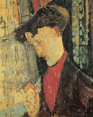 Portrait of Frank Burty Haviland 1914 - Amedeo Modigliani