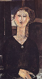 Amedeo Modigliani Reproduction oil painting of Antonia 1915
