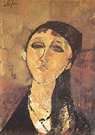 Amedeo Modigliani Reproduction oil painting of Louise 1915