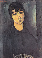 Amedeo Modigliani Reproduction oil painting of The Servant 1916