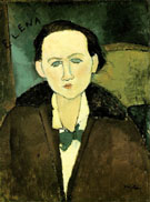 Amedeo Modigliani Reproduction oil painting of Elena Pavlowski