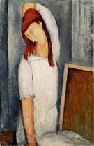 Amedeo Modigliani Reproduction oil painting of Hbuterne Left Arm