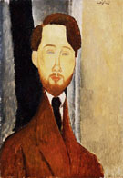 Amedeo Modigliani Reproduction oil painting of Leopold Zborowski