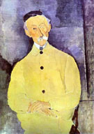 Amedeo Modigliani Reproduction oil painting of Monsieur Lepoutre 1916