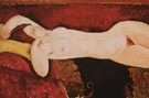 Amedeo Modigliani Reproduction oil painting of Nude Woman Reclining