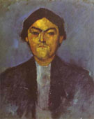 Portrait of Pedro 1909 - Amedeo Modigliani