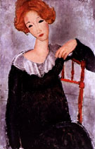 Amedeo Modigliani Woman with Red Hair 1917