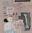 Carbon Dating System Versus Scratchproof Tape, 1982 - Jean-Michel-Basquiat reproduction oil painting