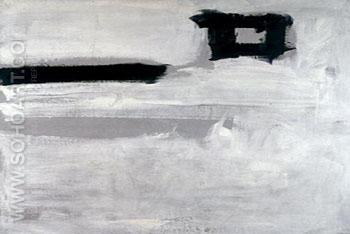 Untitled 1951 Rectangle - Franz Kline reproduction oil painting