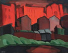 Oscar Bluemner American Night Red Glare
