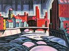 Oscar Bluemner Expression of a Silktown New Jersey 1915