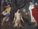 The Beheading of Saint John the Baptist 1869 - Pierre Puvis de Chavannes