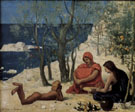 The White Rocks 1869 - Pierre Puvis de Chavannes