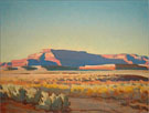 Maynard Dixon Striped Mesa