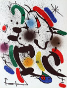 Composition VI 1974 - Joan Miro