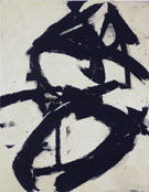 Figure Eight 1952 - Franz Kline reproduction oil painting