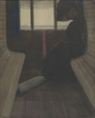 La Dame Dans Le Train - Leon Spilliaert