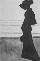 Leon Spilliaert Woman with a Large Hat