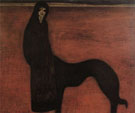 Young Woman and Dog - Leon Spilliaert