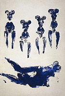 Yves Klein ANT 74 1960
