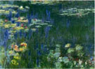 Claude Monet Green Reflections 1